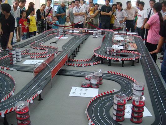 09年卡雷拉轨道赛车促销展示会
